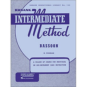 Hal-Leonard-Rubank-Intermediate-Methods---Bassoon-Standard