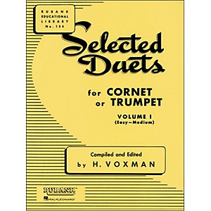 Hal-Leonard-Rubank-Selected-Duets-For-Cornet-Or-Trumpet-Vol-1-Easy-Medium-Standard