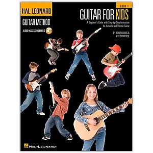 Hal-Leonard-Guitar-For-Kids---Hal-Leonard-Guitar-Method--Book-CD--Standard