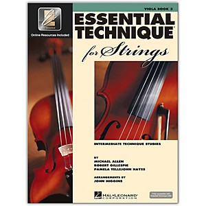 Hal-Leonard-Essential-Technique-2000-For-Strings-Viola-Book-3-Book-CD-Standard