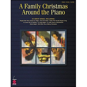 Cherry-Lane-A-Family-Christmas-Around-The-Piano-arranged-for-piano--vocal--and-guitar--P-V-G--Standard