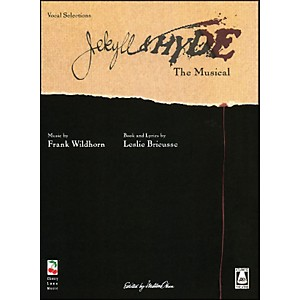 Cherry-Lane-Jekyll---Hyde---New-Broadway-Edition-arranged-for-piano--vocal--and-guitar--P-V-G--Standard