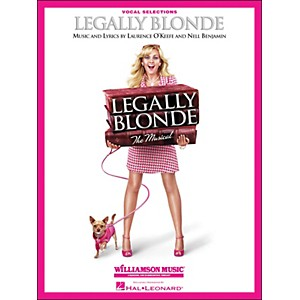 Hal-Leonard-Legally-Blonde-Vocal-Selections--Vocal-With-Piano-Accompaniment--Standard