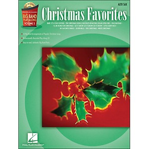Hal-Leonard-Christmas-Favorites-Big-Band-Play-Along-Vol--5-Alto-Sax-Book-CD-Standard