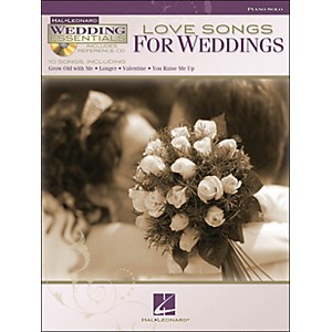 Hal-Leonard-Love-Songs-For-Weddings---Wedding-Essentials-Series-Book-CD-arranged-for-piano-solo-Standard