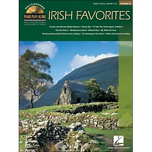 Hal-Leonard-Irish-Favorites---Piano-Play-Along-Volume-90--CD-Pkg--arranged-for-piano--vocal--and-guitar--P-V-G--Standard