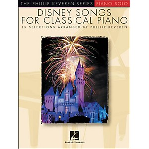 Hal-Leonard-Disney-Songs-For-Classical-Piano---The-Phillip-Keveren-Series-arranged-for-piano-solo-Standard