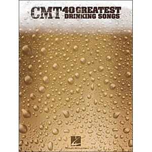Hal-Leonard-CMT-s-40-Greatest-Drinking-Songs-arranged-for-piano--vocal--and-guitar--P-V-G--Standard