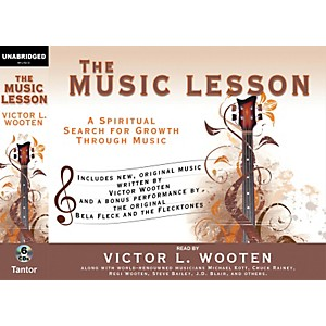 Alfred-The-Music-Lesson-by-Victor-Wooten-Audio-Book-Version---6-CDs-Standard