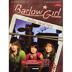 Word-Music-Barlow-Girl---Another-Journal-Entry-arranged-for-piano--vocal--and-guitar--P-V-G--Standard
