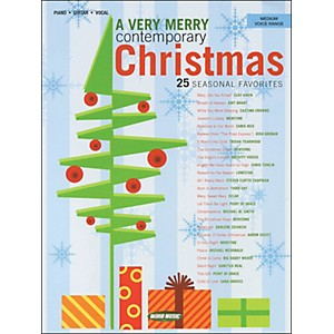 Word-Music-A-Very-Merry-Contemporary-Christmas-arranged-for-medium-voice-Standard