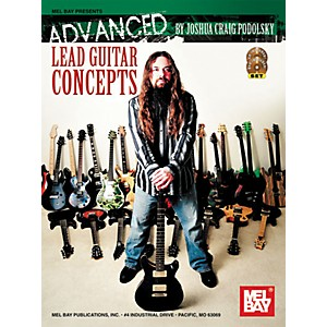 Mel-Bay-Advanced-Lead-Guitar-Concepts-Book-CD-DVD-Standard