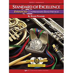 KJOS-Standard-Of-Excellence-Book-1-Enhanced-Percussion-Standard