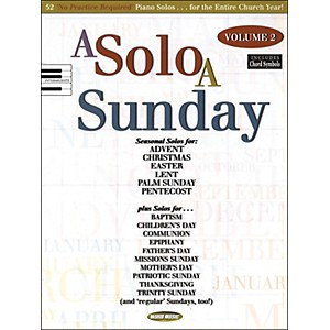 Word-Music-A-Solo-A-Sunday-Volume-2-Piano-Solo-Standard