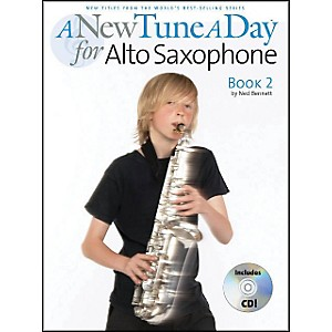 Music-Sales-A-New-Tune-A-Day-Alto-Sax-Book-2-Book-CD-Standard
