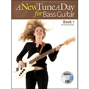 Music-Sales-A-New-Tune-A-Day-Bass-Guitar-Book-1-with-CD-Standard