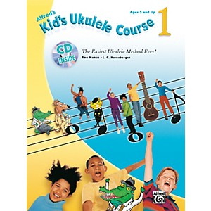 Alfred-Kid-s-Ukulele-Course-1-Book-and-CD-Standard
