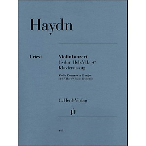 G--Henle-Verlag-Concerto-For-Violin-And-Orchestra-in-G-Major-Hob-VIIa-4-By-Haydn-Standard