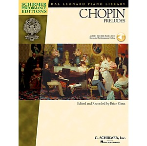 G--Schirmer-Chopin-Preludes-Book-CD---Schirmer-Performance-Edition-By-Chopin---Ganz-Standard