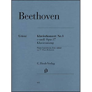 G--Henle-Verlag-Concerto-For-Piano-And-Orchestra-C-Minor-Op--37--No--3-By-Beethoven-Standard