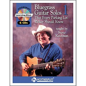 Homespun-Bluegrass-Guitar-Solos-That-Every-Parking-Lot-Picker-Should-Know--Series-1--Book-6-CD-s-Standard