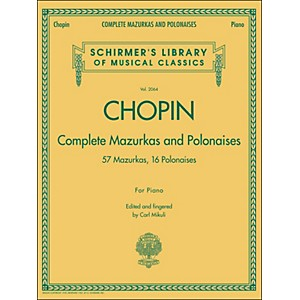 G--Schirmer-Complete-Mazurkas-And-Polonaises-By-Chopin-Standard
