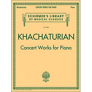 G--Schirmer-Concert-Works-For-Piano---Schirmer-Library-By-Khachaturian-Standard