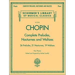 G--Schirmer-Complete-Preludes--Nocturnes-And-Waltzes-For-Piano-By-Chopin-Standard