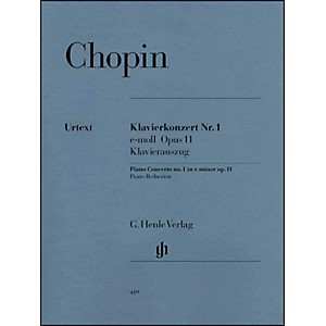 G--Henle-Verlag-Concerto-for-Piano-and-Orchestra-E-minor-Op--11--No--1-By-Chopin-Standard