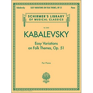 G--Schirmer-Easy-Variations-On-Folk-Themes-Op-51-Piano-By-Kabalevsky-Standard