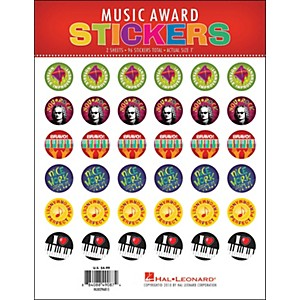 Hal-Leonard-Music-Award-Stickers-Package-Standard