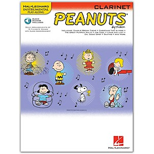 Hal-Leonard-Peanuts-For-Clarinet---Instrumental-Play-Along-Book-CD-Standard