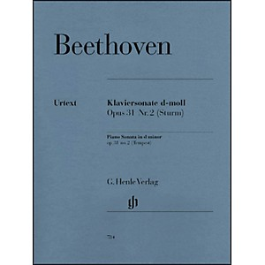 G--Henle-Verlag-Piano-Sonata-No--17-in-D-Minor-Op--31-Tempest-Sonata-By-Beethoven-Standard