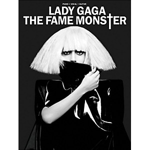 Hal-Leonard-Lady-Gaga---The-Fame-Monster-PVG-Standard