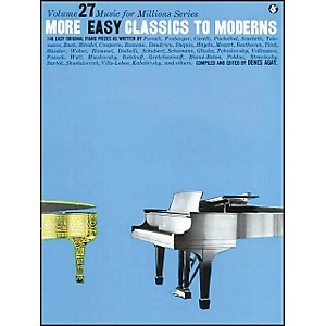 Music-Sales-More-Easy-Classics-To-Moderns-By-Denes-Agay-Standard