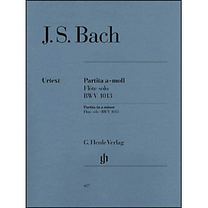 G--Henle-Verlag-Partita-For-Flute-Solo-In-A-Minor--BWV-1013-By-Bach-Standard