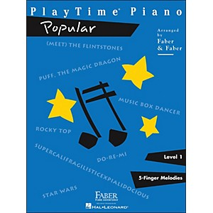Faber-Music-Playtime-Popular-Level-1-Standard
