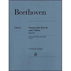G--Henle-Verlag-Sonatas-For-Piano-And-Violin-Volume-I-By-Beethoven-Standard