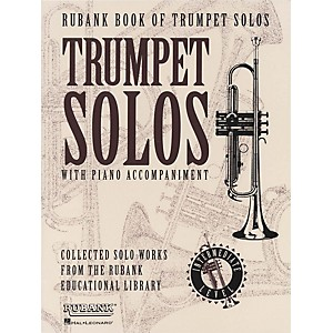 Hal-Leonard-Rubank-Book-Of-Trumpet-Solos-Intermediate-Level-Standard