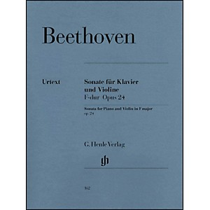 G--Henle-Verlag-Sonata-For-Piano-And-Violin-F-Major-Op--24--Spring-Sonata--By-Beethoven-Standard