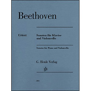 G--Henle-Verlag-Sonatas-For-Piano-And-Violoncello-By-Beethoven-Standard
