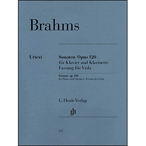 G--Henle-Verlag-Sonatas-For-Piano-And-Clarinet--Or-Viola--Opus-120-Nos-1---2--Version-For-Viola--By-Brahms-Standard