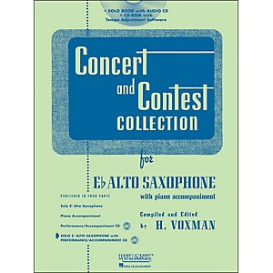 Hal-Leonard-Rubank-Concert-And-Contest-Collection-Alto-Sax-Book-CD-Standard