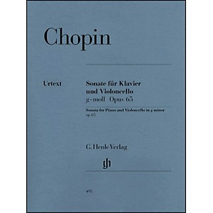 G--Henle-Verlag-Sonata-for-Violoncello-and-Piano-G-minor-Op--65-By-Chopin-Standard