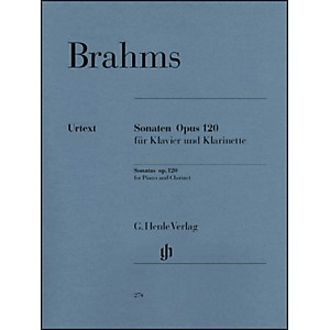 G--Henle-Verlag-Sonatas-For-Piano-And-Clarinet--Or-Viola--Op--120--Nos--1-And-2-By-Brahms-Standard