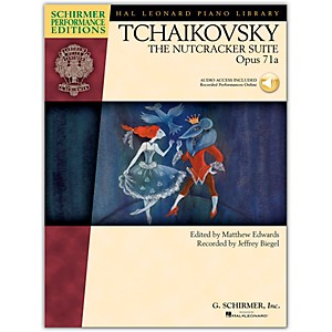 G--Schirmer-The-Nutcracker-Suite-Opus-71---Schirmer-Performance-Edition-Book-CD-By-Tchaikovsky---Esipoff-Standard