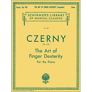G--Schirmer-The-Art-Of-Finger-Dexterity-Op-740-Complete-By-Czerny-Standard