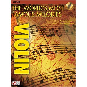 Cherry-Lane-The-World-s-Most-Famous-Melodies-For-Violin-Book-CD-Standard