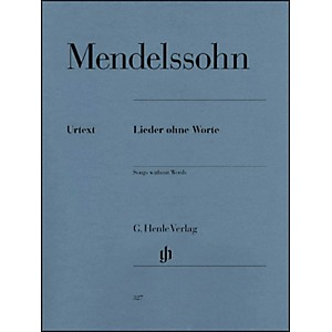 G--Henle-Verlag-Songs-Without-Words-By-Mendelssohn-Standard