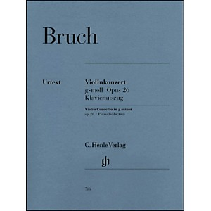 G--Henle-Verlag-Violin-Concerto-in-G-Minor-Op--26-By-Bruch-Standard